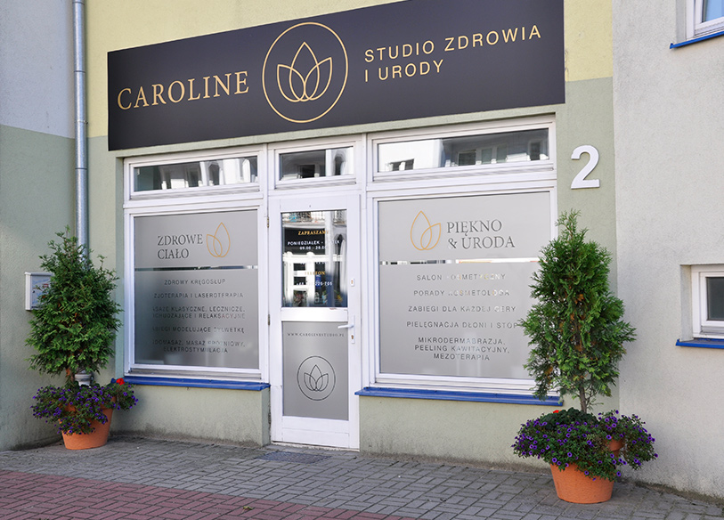 Salon kosmetyczny d caroline studio for 15 115 salon kosmetyczny